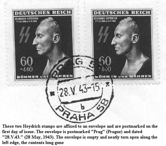 Reinhard Heydrich Stamp310