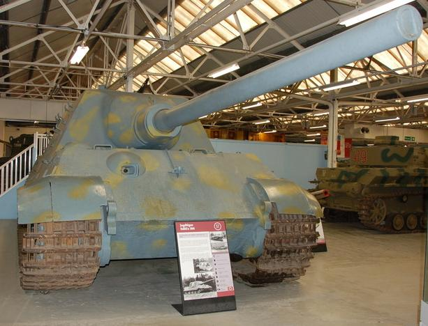 Jagdtiger - Bovington Museum - UK  Tankmu10