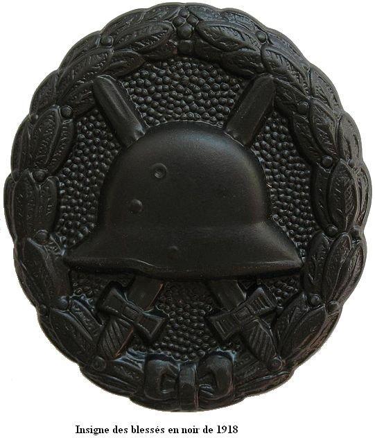 Insigne Badge des blessés -WH Vwa_sc11
