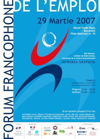 Forum Francophone de l'Emploi à Bucarest Forume11