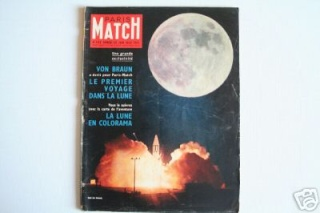 "Livres : ""First men TO the Moon"" de Von Braun Fd19_110"