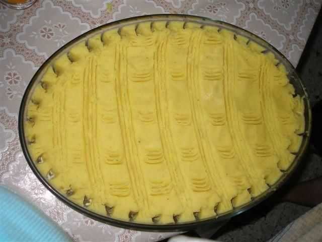 PASTEL DE CARNE Y PATATA  pastel de viande et pomme de terre Pa050121