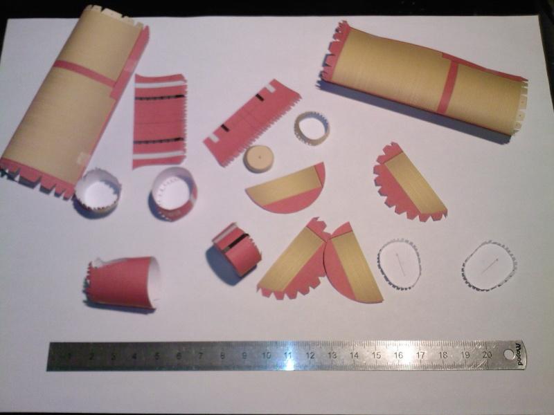 Macchi MC72 approxi 1/35° Papier Sp_a0220
