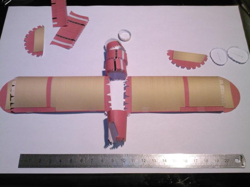 Macchi MC72 approxi 1/35° Papier Sp_a0223