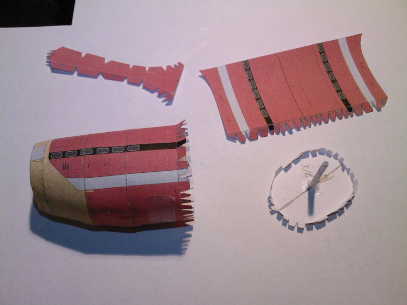 Macchi MC72 approxi 1/35° Papier Sp_a0226