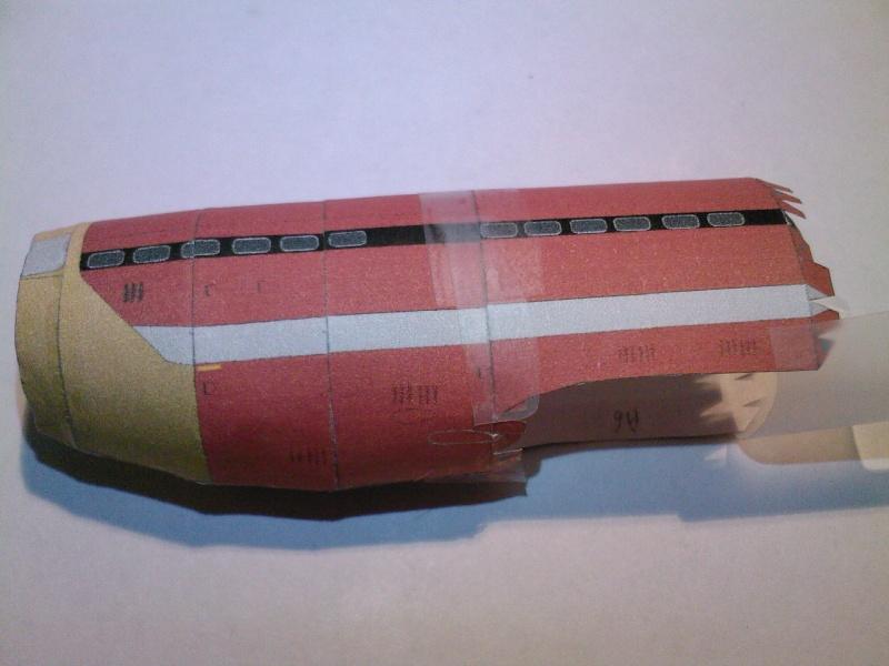Macchi MC72 approxi 1/35° Papier Sp_a0227