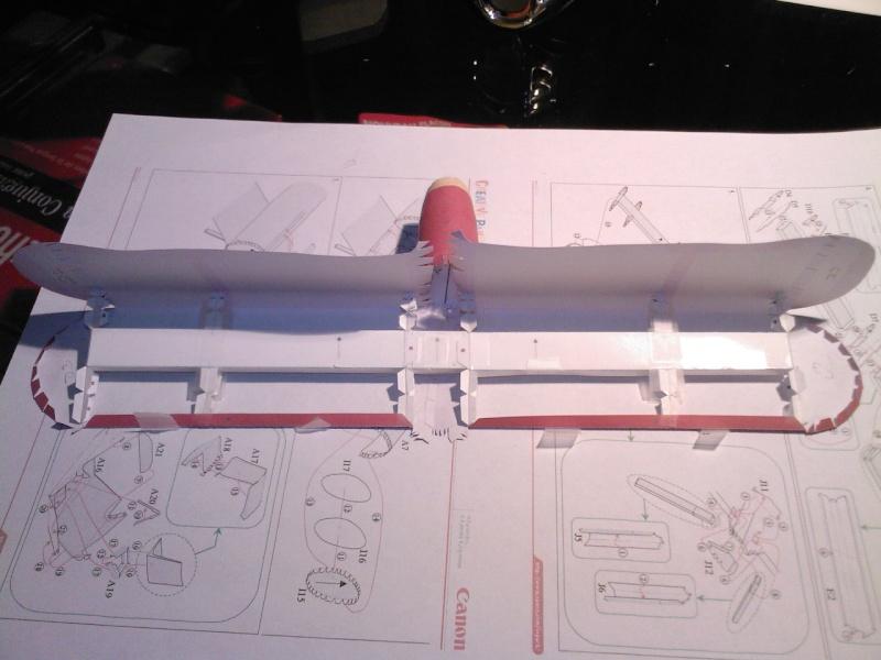 Macchi MC72 approxi 1/35° Papier Sp_a0237