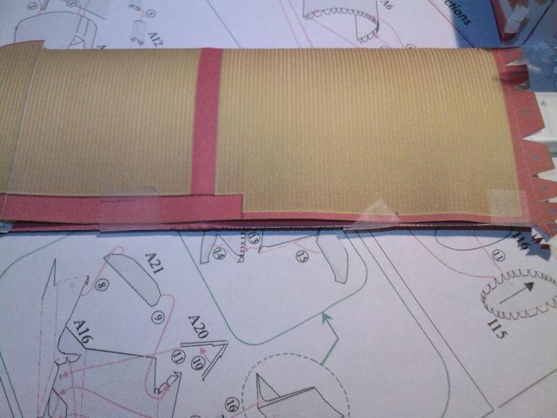 Macchi MC72 approxi 1/35° Papier Sp_a0239
