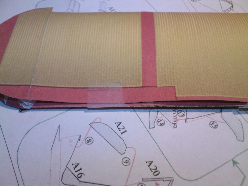Macchi MC72 approxi 1/35° Papier Sp_a0240