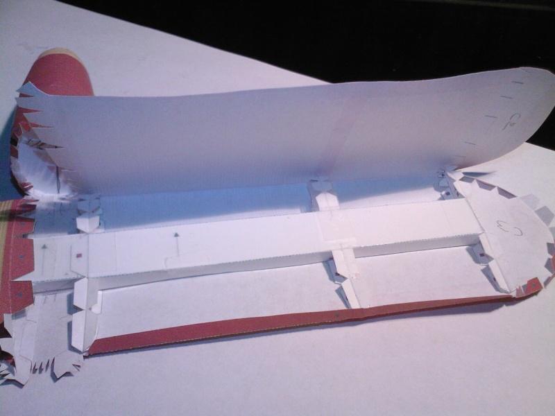 Macchi MC72 approxi 1/35° Papier Sp_a0241