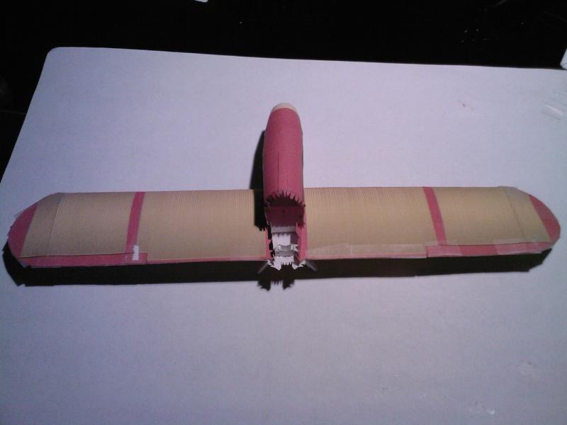 Macchi MC72 approxi 1/35° Papier Sp_a0242