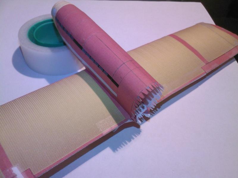 Macchi MC72 approxi 1/35° Papier Sp_a0248