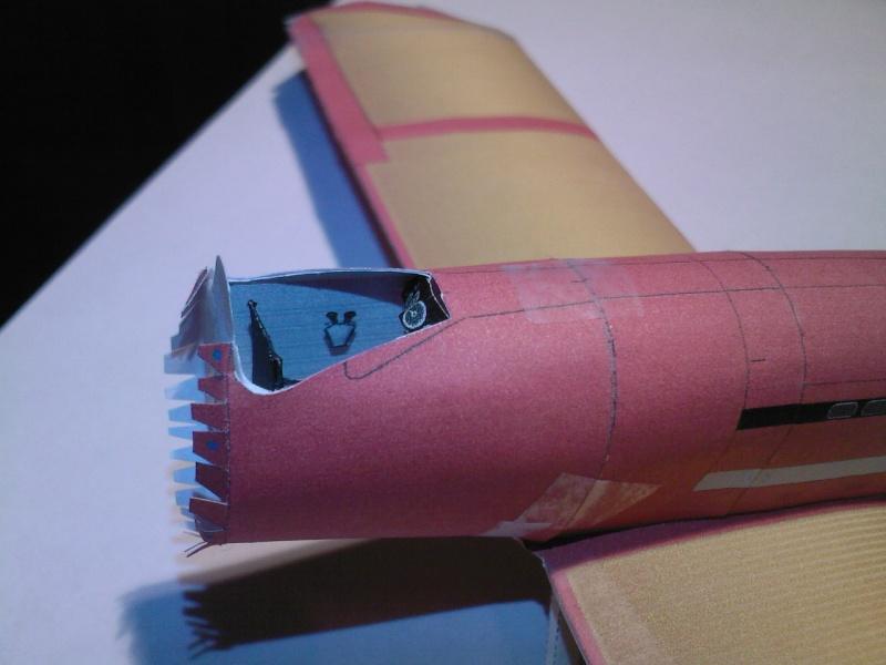 Macchi MC72 approxi 1/35° Papier Sp_a0251