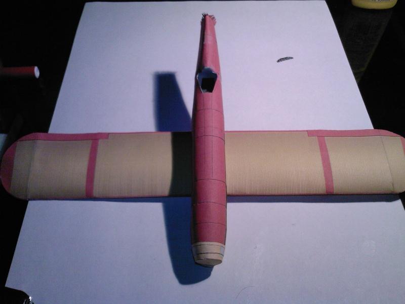 Macchi MC72 approxi 1/35° Papier Sp_a0310