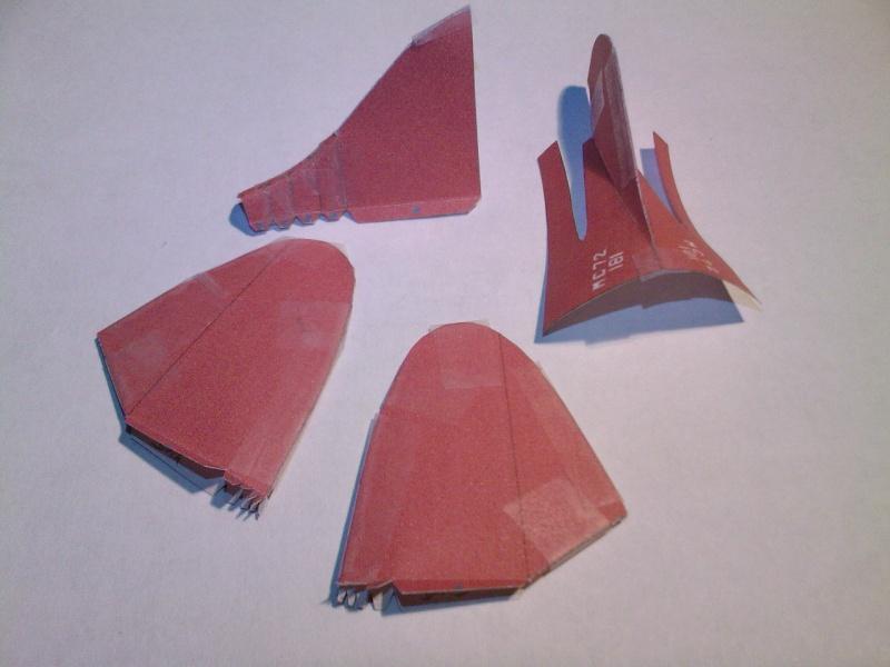 Macchi MC72 approxi 1/35° Papier Sp_a0313