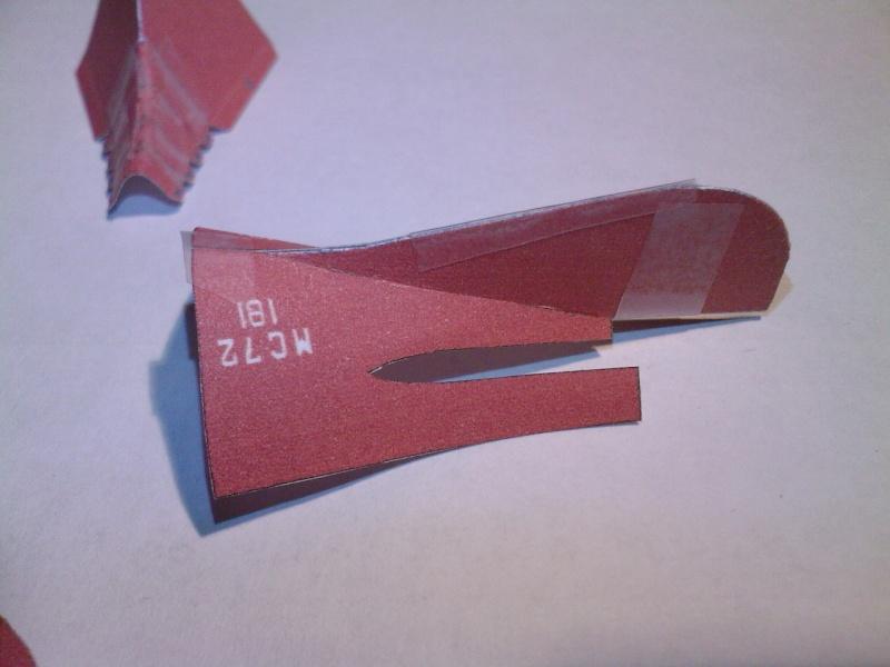 Macchi MC72 approxi 1/35° Papier Sp_a0316