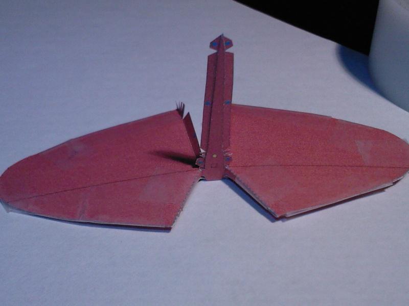 Macchi MC72 approxi 1/35° Papier Sp_a0321