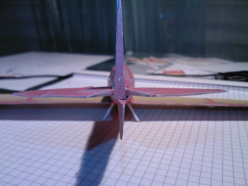 Macchi MC72 approxi 1/35° Papier Sp_a0324