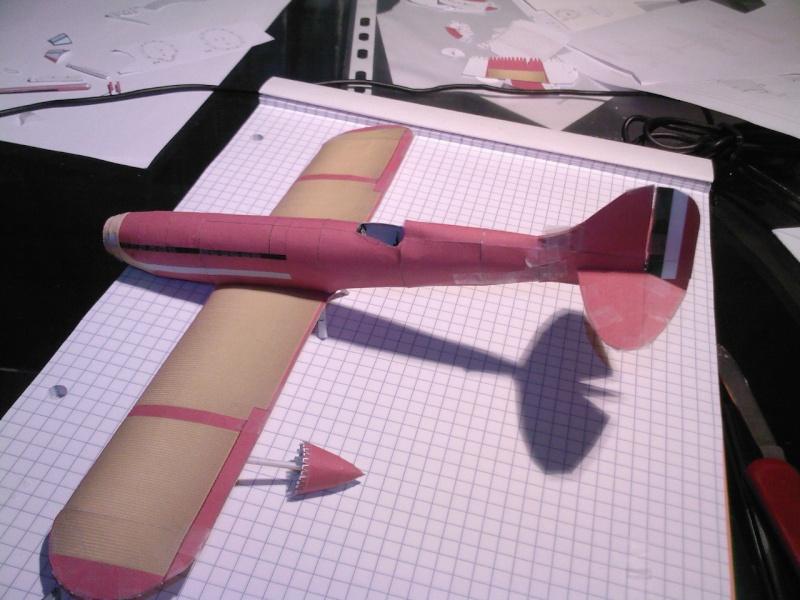 Macchi MC72 approxi 1/35° Papier Sp_a0326