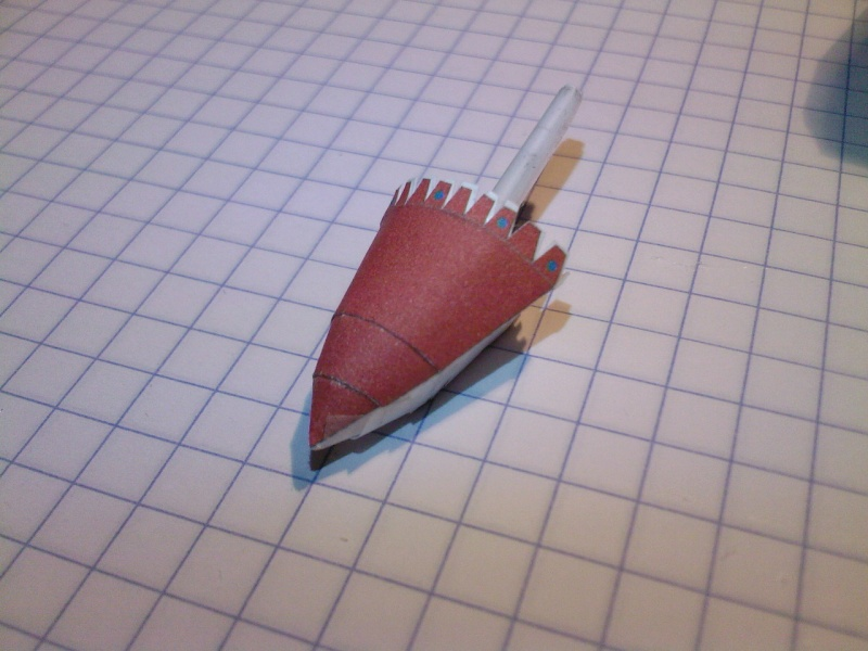 Macchi MC72 approxi 1/35° Papier Sp_a0327