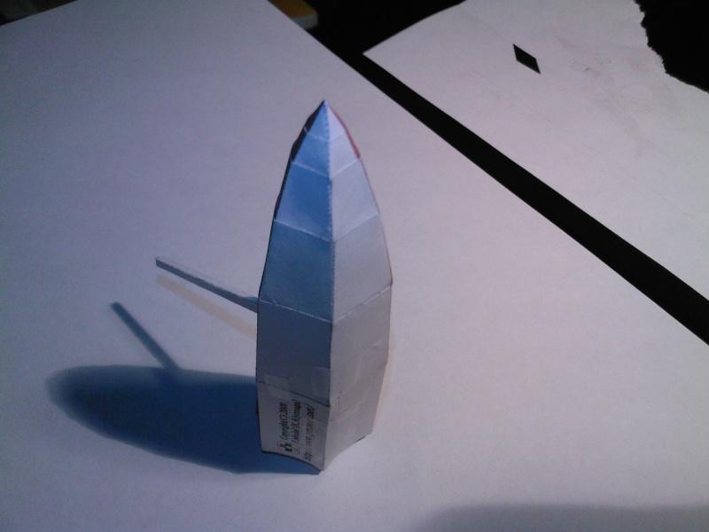 Macchi MC72 approxi 1/35° Papier Sp_a0333