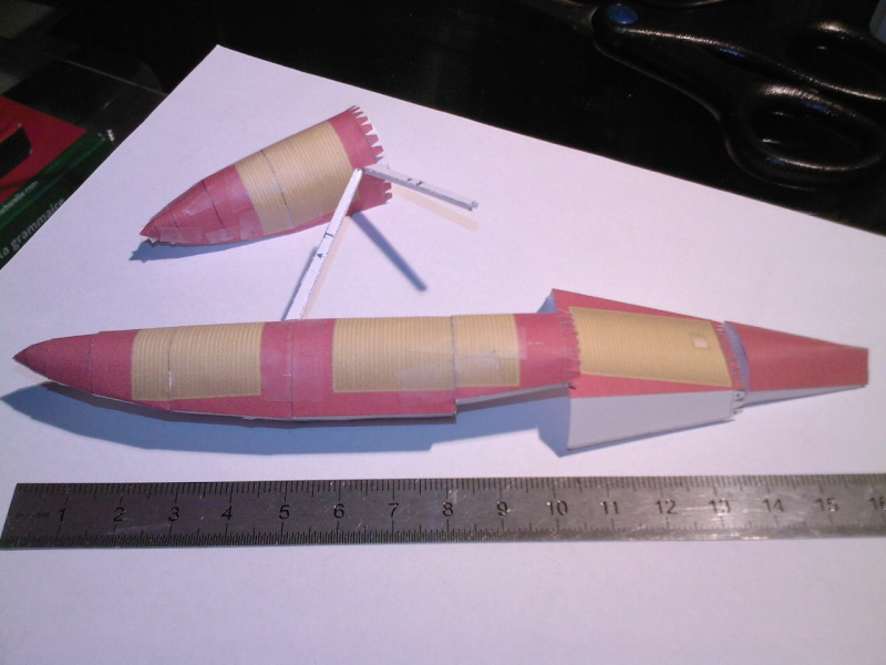 Macchi MC72 approxi 1/35° Papier Sp_a0334