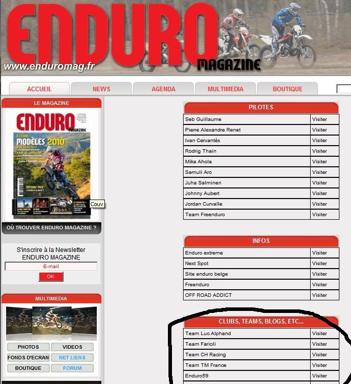 EnduroMag en ligne Enduro10