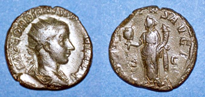 La 3e libéralité de Gordien III Numari23