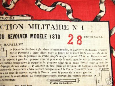 LES MOUCHOIRS D'INSTRUCTION MILITAIRES (Marine et Bateaux) Moucho13