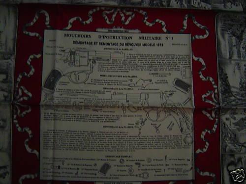 LES MOUCHOIRS D'INSTRUCTION MILITAIRES (Marine et Bateaux) Moucho17