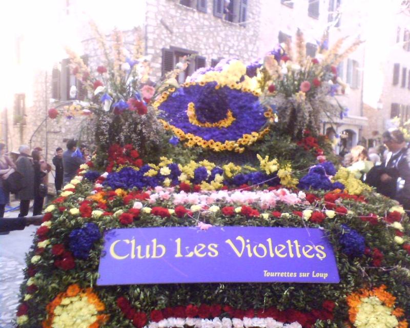 Photos de la fête de la violette (tourette sur loup) 11-03-11