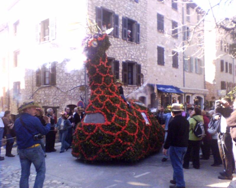 Photos de la fête de la violette (tourette sur loup) 11-03-12