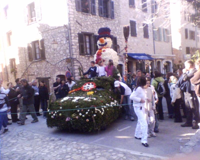 Photos de la fête de la violette (tourette sur loup) 11-03-13