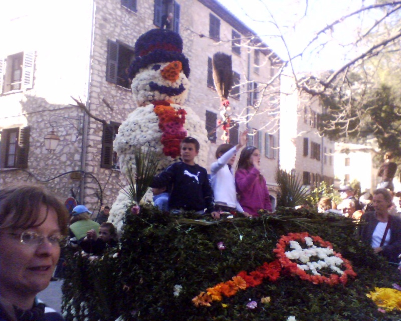 Photos de la fête de la violette (tourette sur loup) 11-03-14