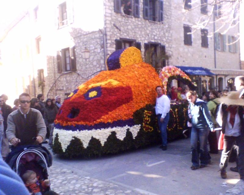 Photos de la fête de la violette (tourette sur loup) 11-03-15