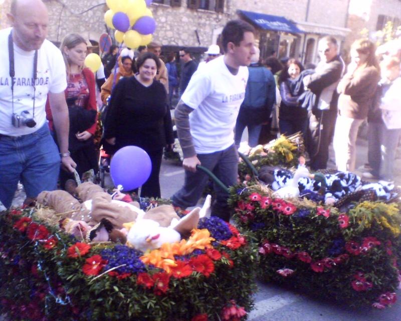 Photos de la fête de la violette (tourette sur loup) 11-03-23