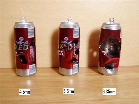 Comparatif 4,5mm / 5,5mm / 6,35mm Impact10