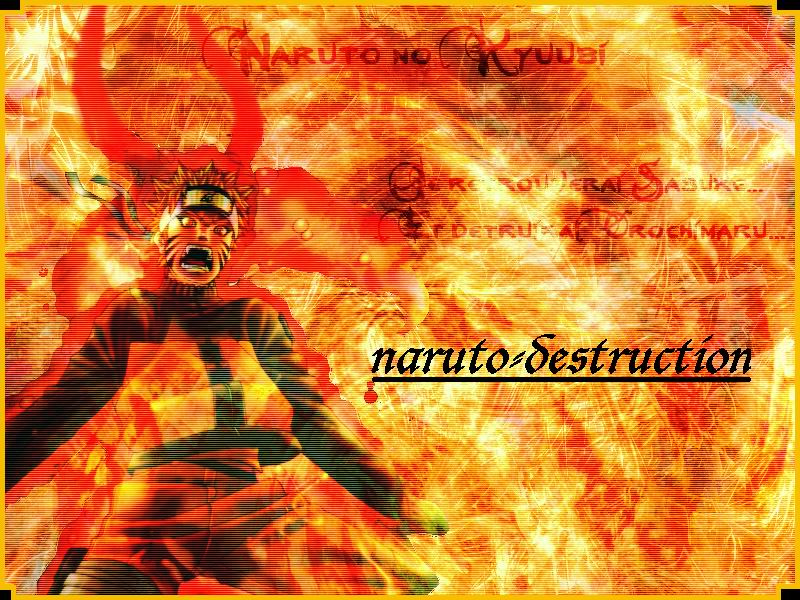 Naruto destruction