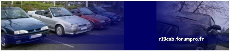 Forum Renault 19 Cabriolet