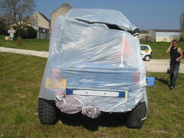 boucher les ailes de nos jeep Carros15