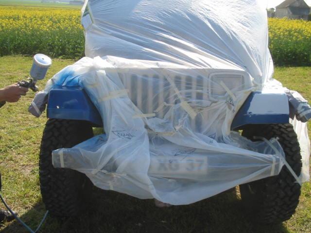 boucher les ailes de nos jeep Carros17