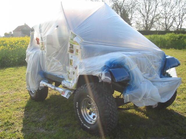 boucher les ailes de nos jeep Carros19