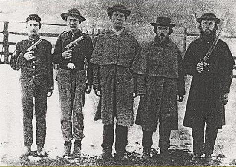 Galerie photos d'époque: Combattants de la guerre civile US 510