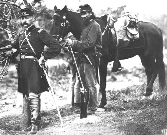 Galerie photos d'époque: Combattants de la guerre civile US 54010