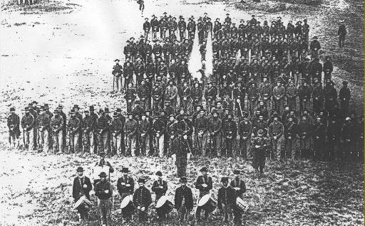 Galerie photos d'époque: Combattants de la guerre civile US 711