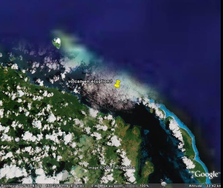 Ile Lavongai, Papouasie, Nouvelle-Guinée, Océanie [C'est quoi ?] Volcan10