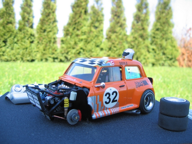 -- Austin mini de course 1/24-- Img_1011