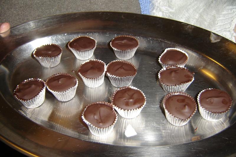 Bouchées au chocolat/Pralines Bouche10