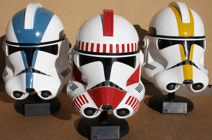 Les casques de Clone troopers Master Replicas Mr3clo11
