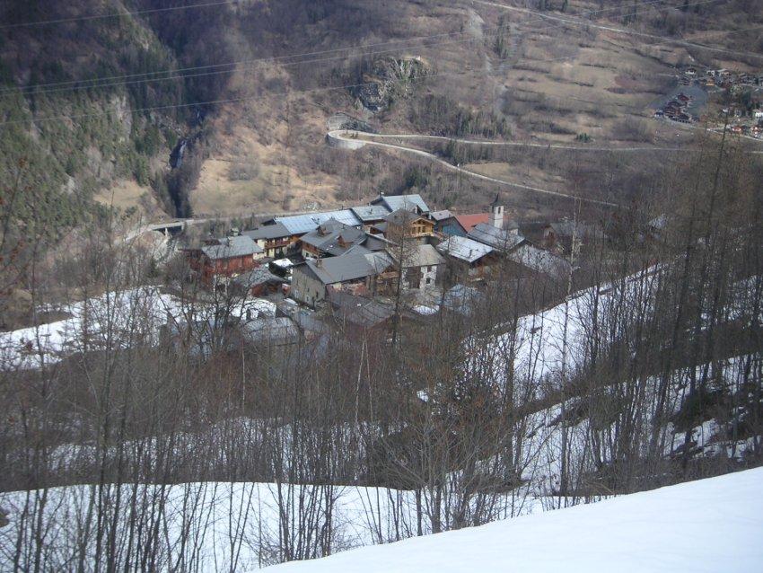 [Les Arcs]Photos de Haute Tarentaise vu des arcs (10/3/2007) Villar10